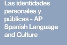 Ap Spanish Las identidades personales