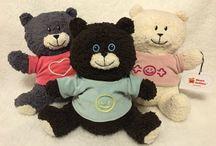 #heartsofties #ecological #teddybears #swedishdesign / Buy at www.devotedselection.com #ecological #teddybears #swedishdesign #madeinEU 100% ecological cotton washable 10% of profits to #goodcauses