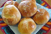 ψωμάκια χάμπουργκερ