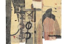 Mixed media, painting, collage