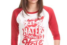 H.A.G.H / Haters Are Gonna Hate. Just another t-shirt brand maybe, but what make this one different?  A statement which sums up the world we are living in or just how it is