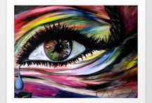 Eye Art / Capturing beauty through art.