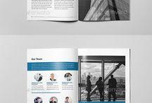 Best Company Profile Tempale / #companyprofile #graphicdesign #templates