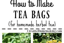 Homemade herbal teas