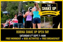 The Shake Up Robina / The Shake Up at Robina is our newest location!  We workout at Robina State High School.  Come and join this growing crew!