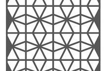 Geometric Circles Cover Plate Die