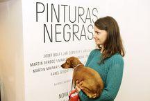 Vernisáž výstavy PINTURAS NEGRAS