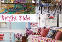 Bright Side - Color Trends Fall 2016 / The upbeat colorful and casual design trend is getting a double dose of demographic lift, as baby boomers retire to warm resort locations and seek a brighter more laid back lifestyle, and as first time home-owning Millennials set up their living spaces. Even the mega-popular grey tones seem to be receding a bit as lighter and livelier ivory's (thank you, Crypton), chambray and aqua blues, and tangerine tones have all grown in popularity.