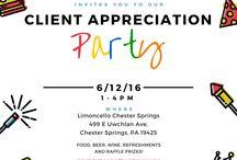 spa client appreciation party/event