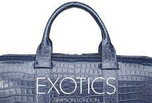 Simpson London Exotics collection