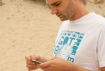 Men's ChillFish Design Sustainable T-shirt Collection / The complete sustainable T-shirt collection for Men by ChillFish Design. All Available on : http://www.chillfishdesign.nl/