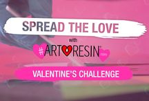 Spread The Love With ArtResin Valentine's Day Challenge