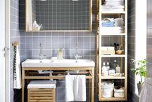 Интерьеры: ванная комната
