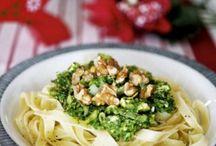 Pastarätt med grönkål