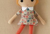 Cute Rag Dolls and Clothes Patterns & Inspiration
