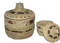Egyptian handimade straw basket / yadaweya.com