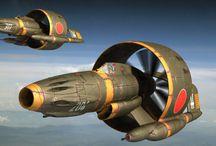 scifi airplane