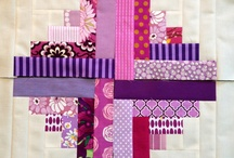 log-cabin quilts/blocks