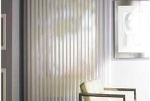 Luminette Sheers Hunter Douglas Sheila's Window Toppers / Luminette Privacy Sheers      Luminette Sheers feature translucent fabric facings and soft fabric vanes that rotate for infinite degrees of light control and privacy, these custom window sheers are especially suited for entire walls of windows, patio or French doors. Luminette Privacy Sheers provide the widest range of light control possible, with a sheer face fabric to let the light in and an attached soft fabric vanes that rotate to keep the light out.