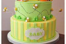 Baby 2nd bday cake