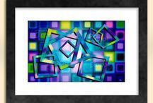 Abstract Art Prints - Sapphire Moon Art Etsy Store / Abstract art prints at the Sapphire Moon Art and Design Etsy store