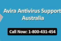 Contact 1-800431454 Avira Support Australia