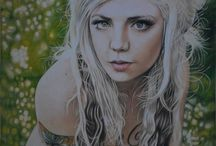 Color Pencil Drawing Realistic By Anyelo Gonzalez / Drawings colored pencil, pastels and other pigments.