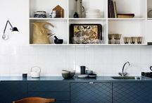 Square Tile Design Inspiration / Between classic subway tile and trending geometric patterns, square tiles can get lost in the shuffle. However, we've noticed that this versatile shape is back on the map. Tried and true, square tile is definitively versatile and is well suited for spaces ranging from traditional to contemporary. / by Fireclay Tile