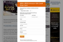 Contests / How to run a contest, either to build your email list or an audience