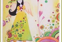 Malowane obrazki,ilustracje