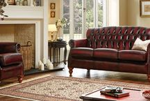 Victoria - Traditional Leather Furniture / View our range of Victoria traditional leather furniture. (Available in a variety of colours - please see the website for more options) - http://www.thomaslloyd.com/range/victoria/