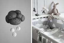 Grey nursery rooms
