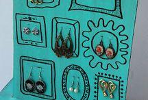 Jewelry displays / Pretty ways to display my jewelry. :)