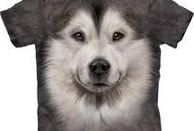 Big Face Dog T-Shirts