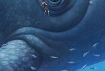 baleia ilustração