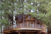 tree houses / by Tammy Goble