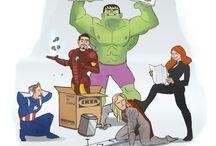 Avengers! / by Kim Deans