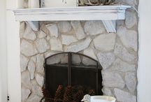 Fireplace revamp / by Andrea Muehlhaus