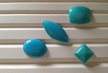 """TURQUOISE December birthstone / The name """"turquoise"""" comes from the French """"turqueise"""", meaning """"Turkish stone"""", because it was first transported to Europe via a Turkish nation."""