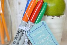 Back to School Teacher Gifts / Simple and Inexpensive gifts to give a preschool teacher