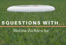 """5 Questions With An Ultimate Frisbee Player / Have you ever wondered what keeps them going? Why Ultimate? Check out the new interview series - """"5 Questions With..."""""""