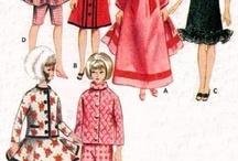 Vintage Barbie klere