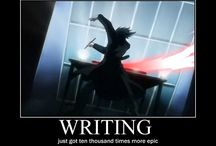 Death Note / A great anime love L, so maybe not so great. Stil not the one behind the pictures' etc. descriptions or whatever