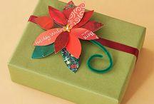 OLD CHRISTMAS CARD IDEAS / by Carolyn Hill