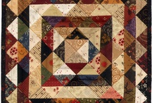Quilts: Scrappy / All types of quilts using a wide variety of fabrics / by Alice Cooksey