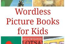School - Wordless Books