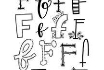 Bogstaver/Art Lettering
