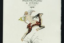 George Barbier - Poster Gallery  / Art Deco Pochoir (Hand coloured) original lithographs from the 1920's  / by Yaneff International Fine Art