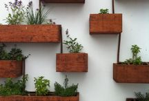 Ideas for our gardenwall