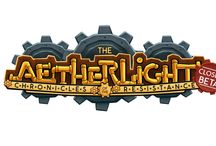 Aetherlight / Middle Reader steampunk series to accompany new video game by Scarlet City Studios